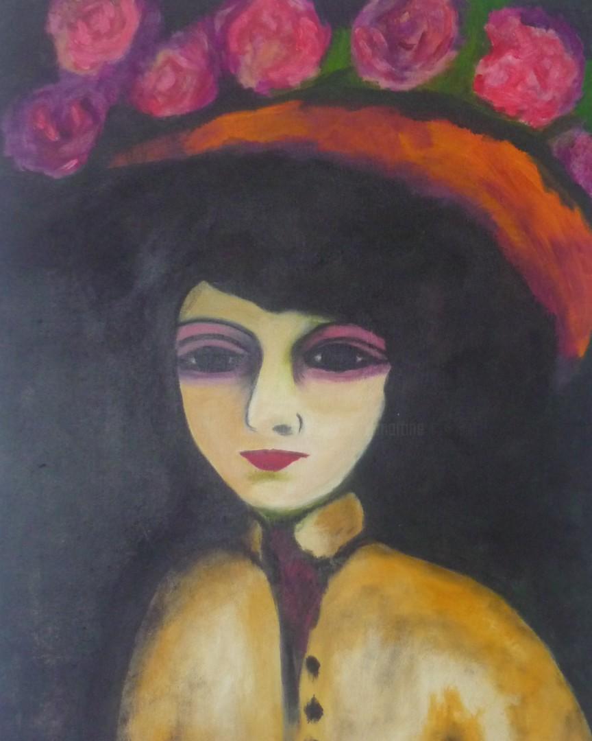 Martine Lallement - le-chapeau-de-roses